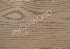 EKO WOOD (DŘE) Dub Evropský, 1lam.,olej grafit, V fáze, 13,5x185x1820 (2,02m2)
